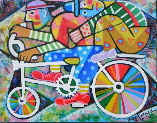Clowns on a Bicycle