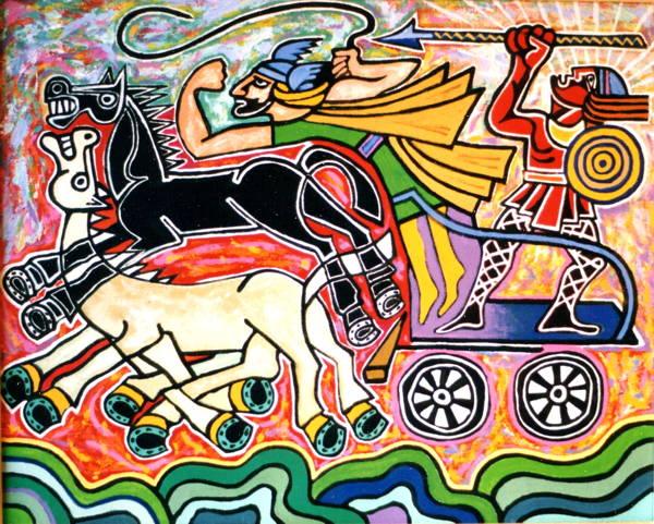 Cuchulainns war Chariot