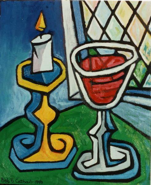 Candle Wineglass 2